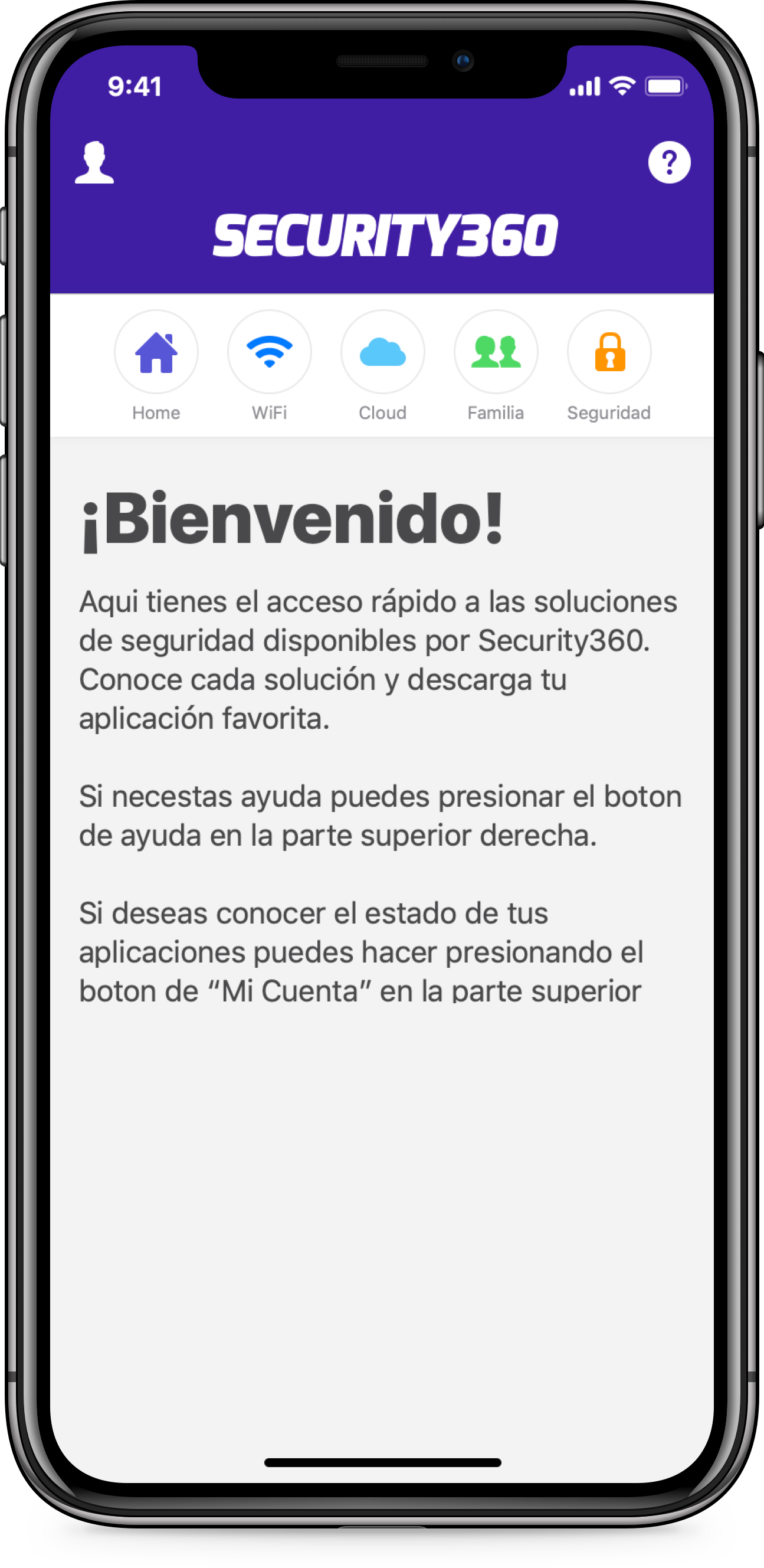 Seguridad360 — Mobile App